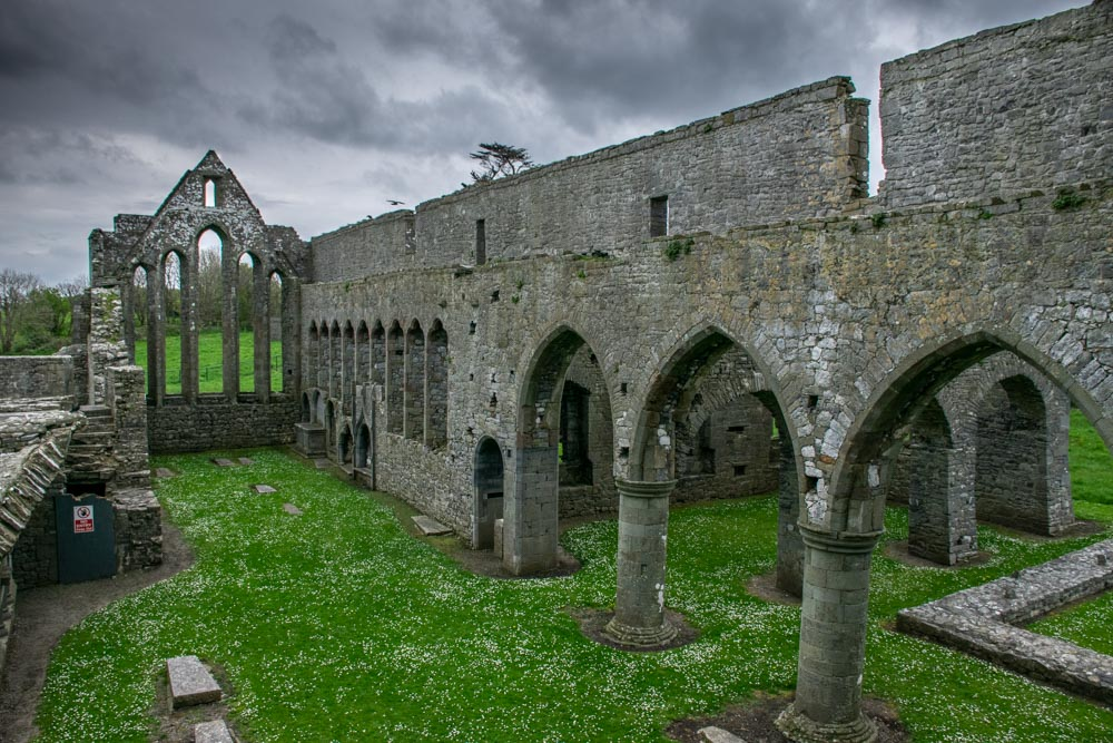 Ardfert Friary in Co Kerry Ireland